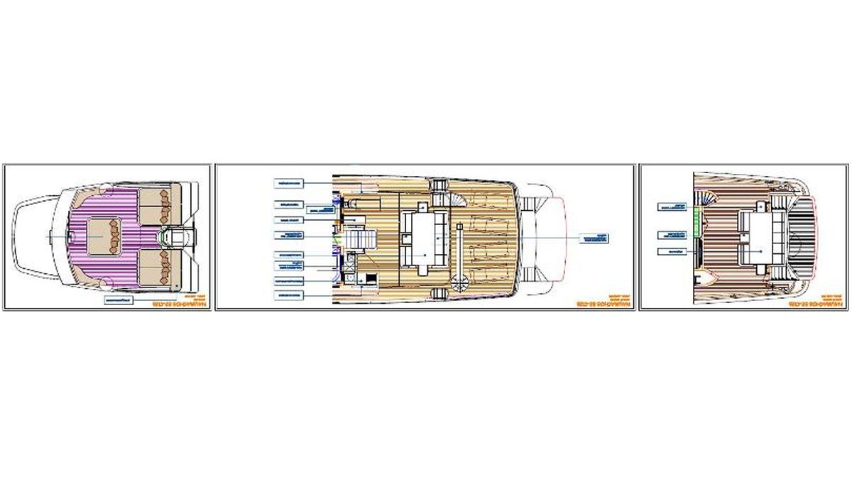 Engineering Solutions - Motor Yacht Naumachos Indian 82 FT