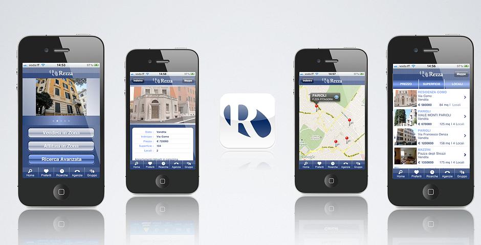 Engineering Solutions - Mobile App Gruppo Rezza Immobiliare