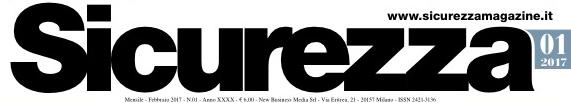 Sicurezza Magazine - Gennaio 2017