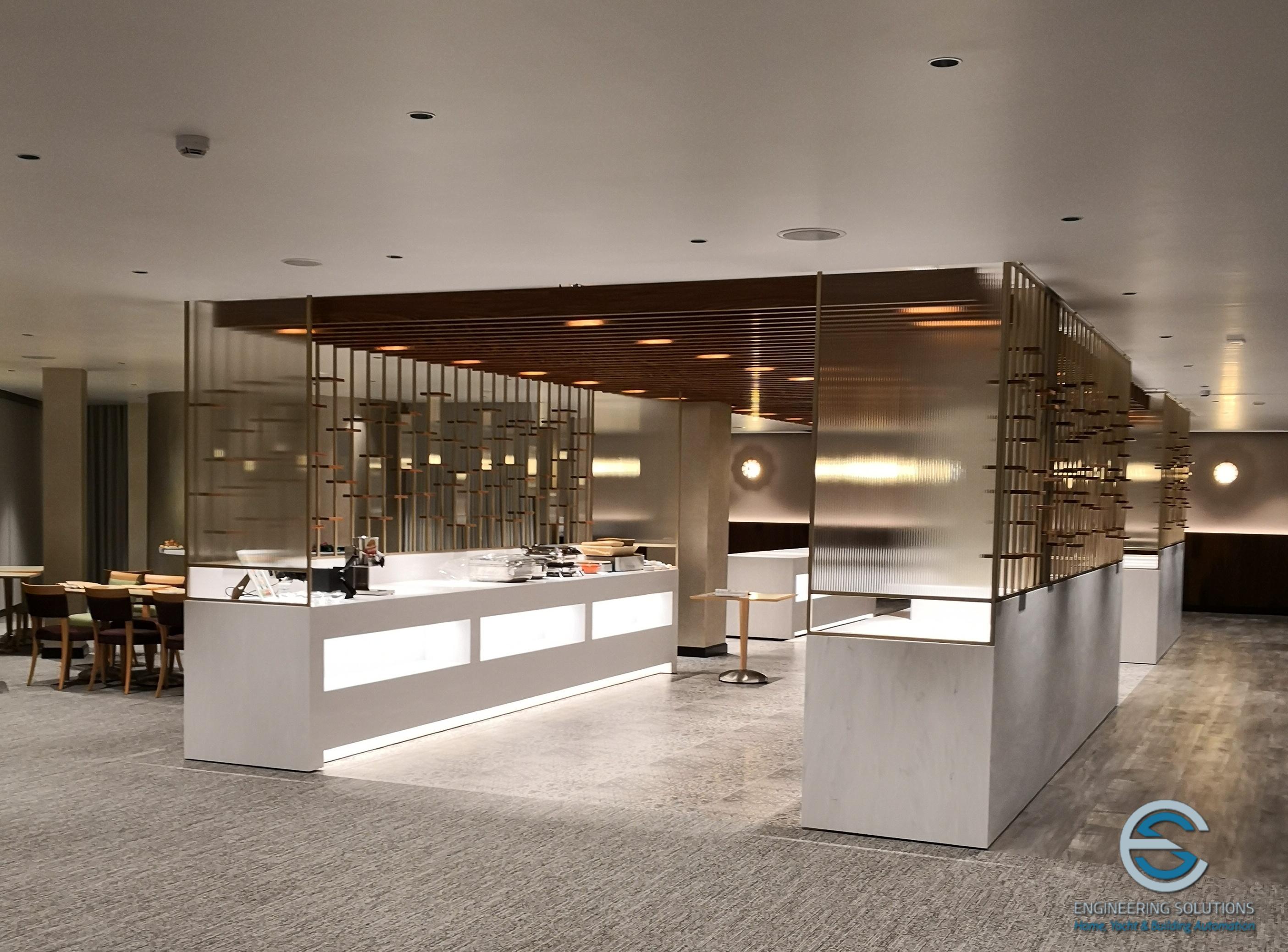 Sala Ristorazione LeMeridien Visconti Hotel .2