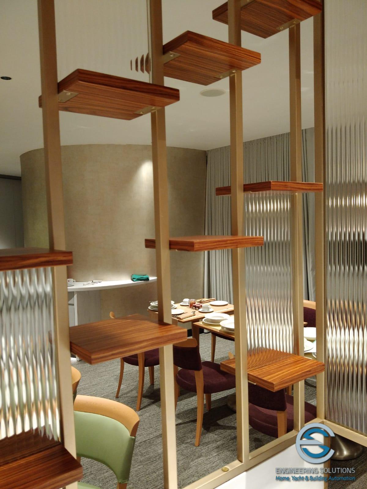 Sala Ristorazione LeMeridien Visconti Hotel .6