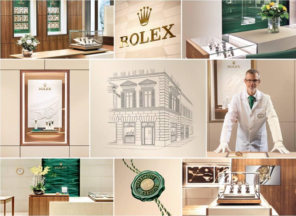 Boutique monomarca Rolex di Hausamnn&Co.